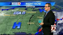 Sunny and cool in the Triad