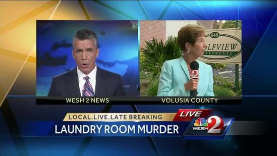 Killed man found in shared laundry room