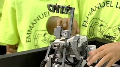 Student Robots Compete In LEGO Championships