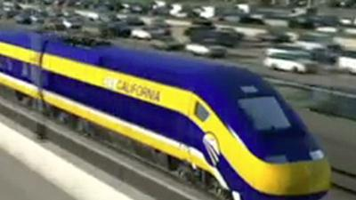 Calif. governor signs bill for high-speed train
