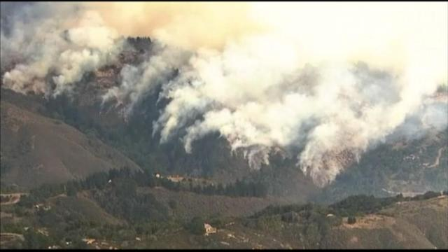 Big Sur Wildfire: Hundreds Evacuated
