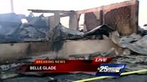 Auto repair shop destroyed in overnight fire