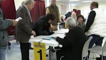 NJ voters turn out in Sandy ravaged areas