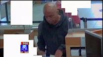 Man Suspected Of Robbing Bank, Pedestrian
