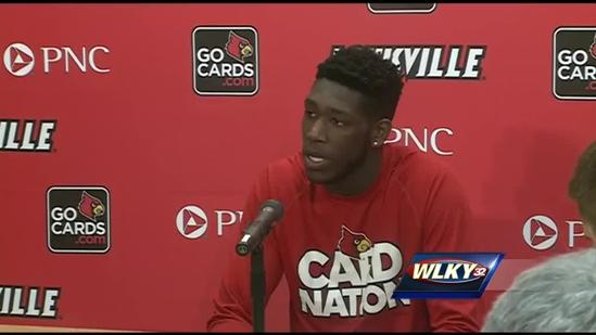 Raw video: Montrezl Harrell on decision to return to UofL