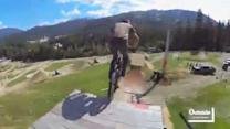 BMX Whistler POV Course Preview