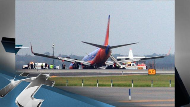 America Breaking News: Southwest's LaGuardia Airport Landing Gear Collapse Results In Injuries