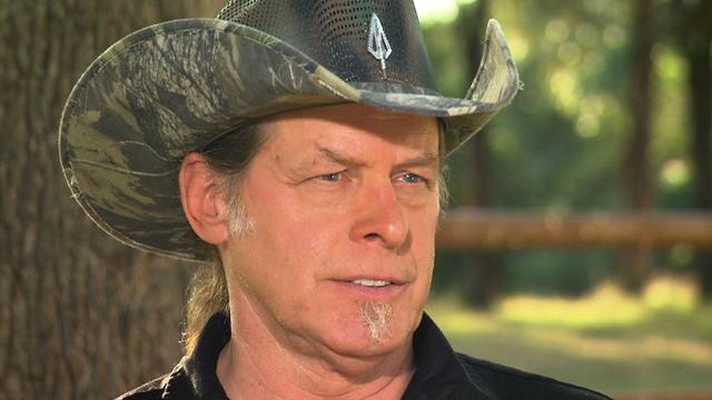 Ted Nugent speaks out only on