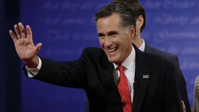 Gov. Romney showing his CEO side?