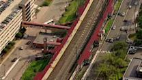 Power line trouble for New Jersey Transit
