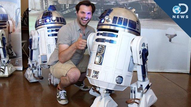 The Only Place You Can Meet R2D2 and 3D Scan Your Face - DNews