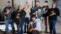Group of Men Rescue 8 Stray Dogs on Bachelor Party Trip