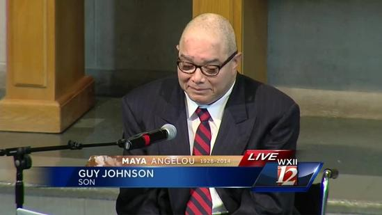 Full Remarks: Angelou's son, Guy Johnson