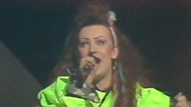 Boy George and the Culture Club at the Richfield Coliseum in 1984