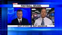 Football brawl ruling