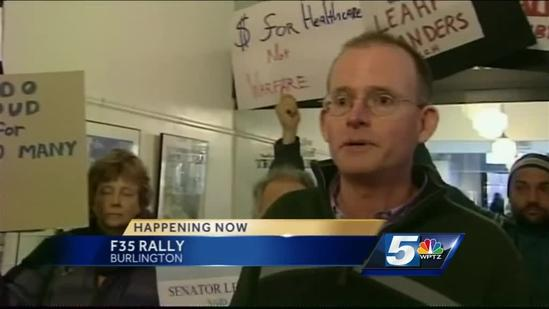 Supporter, opponent rattled by F-35 fight