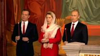 Putin attends Easter services in Moscow