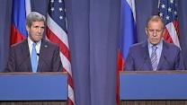 Kerry, Russian Foreign Minister Discuss Syria Meeting