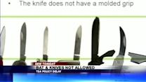 Bats, Knives And Sticks on Planes