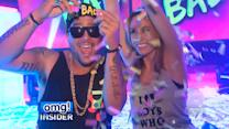 Sky Blu Shows 'omg! Insider' How to 'Pop Bottles'