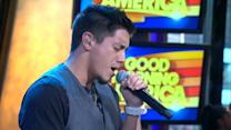 Stefano Performs 'Last Day' on 'GMA'
