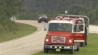 Western Jupiter Brush Fires Causes Closure Of Indiantown Road