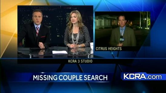 Crews continue missing couple search; last seen in Citrus Heights
