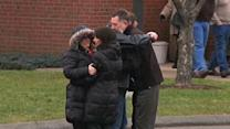 Raw: Grieving Newtown Residents Turn to Church