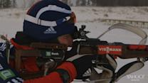 Elite Athlete Workouts: Biathlete Russell Currier shoots for gold.