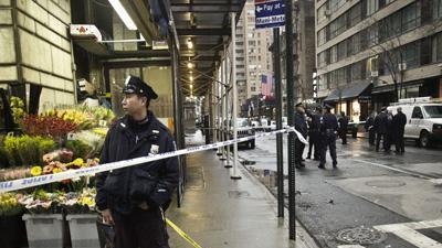 Tourist: NY Shooting Aftermath 'Quite Shocking'