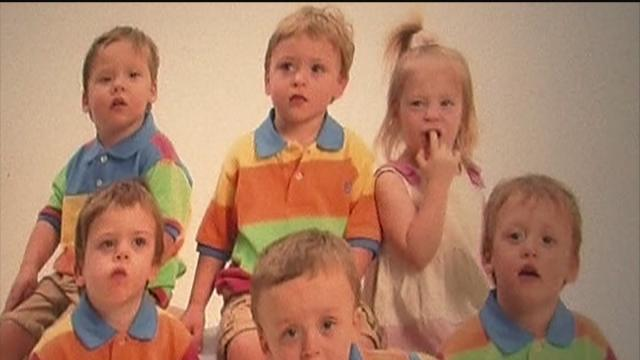 The Byler sextuplets from Wesley Chapel turn six; for the first time in their young lives are separated