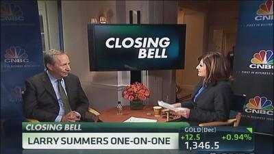 Wrong to rely on monetary policy: Summers