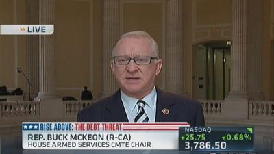 Short-term, would like Obama's assurance: Rep. McKeon