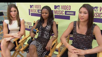 McKayla Maroney, Gabby Douglas And Kyla Ross: Who Do They Want To Meet At The 2012 MTV Video Music Awards?