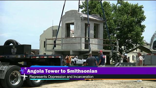 Angola prison guard tower to be in Smithsonian exhibit