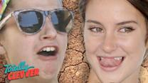 People Try Shailene Woodley's GROSS Clay Diet (Totally Clevver)