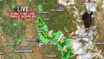 T-Storms March Through Foothills