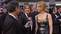Memorable moments on Oscar red carpet