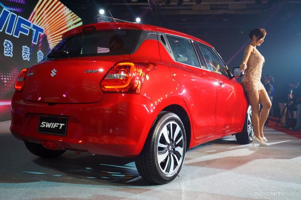 時尚外型 節能油耗 Suzuki All New Swift正式在台發表
