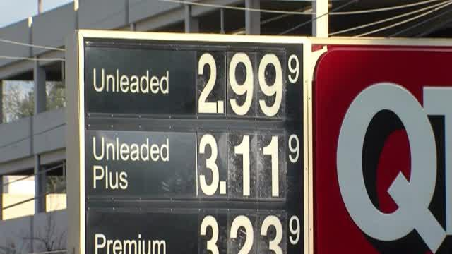 Gas prices take a plunge