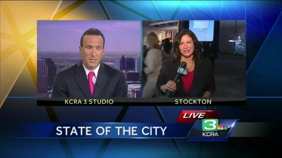 Stockton mayor prepares to give State of the City Address