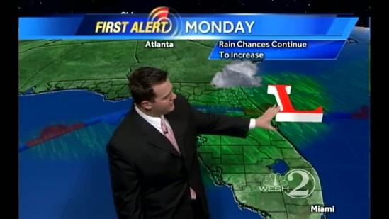 Sunday Outlook: Mostly Cloudy, Another Round of Showers Moves In