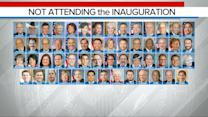 List of Congress Members Boycotting the Inauguration Grows as Trump Arrives in Washington