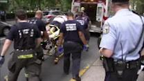 Bicyclist struck by car near Rittenhouse Square