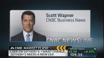 Dan Loeb speaks to CNBC's Scott Wapner