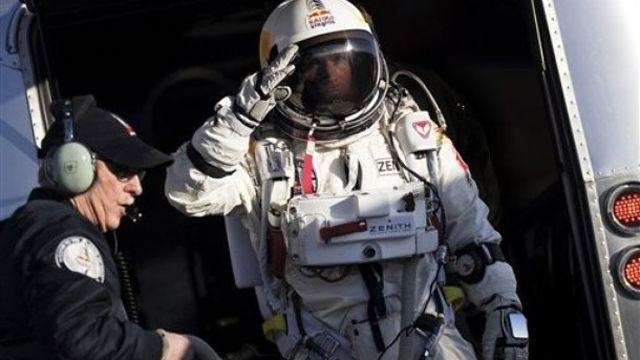 Man to attempt world record parachute jump from space
