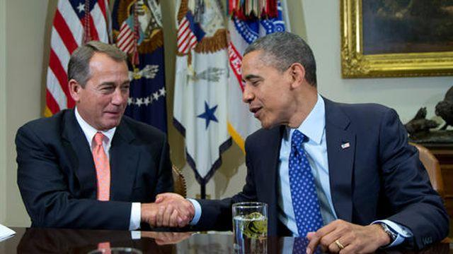 White House, GOP remain at odds over 'fiscal cliff'