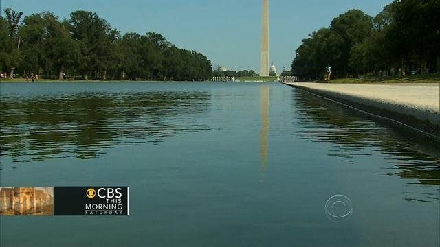 Reflecting Pool gets facelift