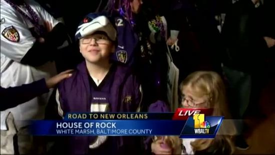 Purple Friday fans pumped for AFC Championship