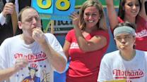 Chuck On Hot Dog Eating Contests